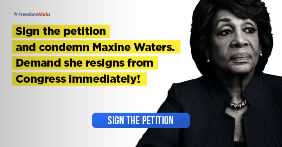 Image result for Demand Maxine Waters Resign from Congress