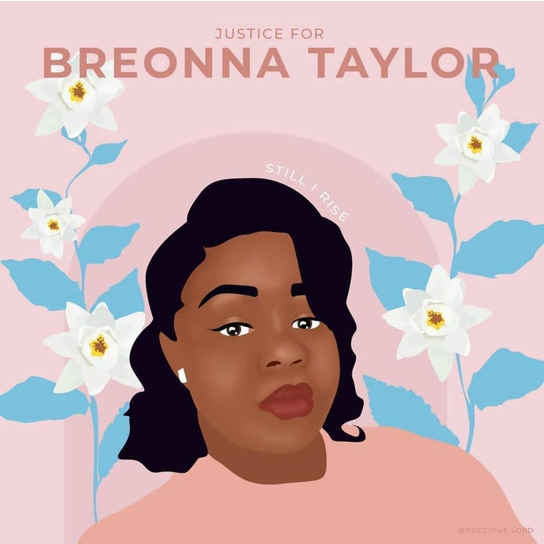 We Can T Send Her A Card So We Re Sending A Message Justice For Breonna Taylor Now