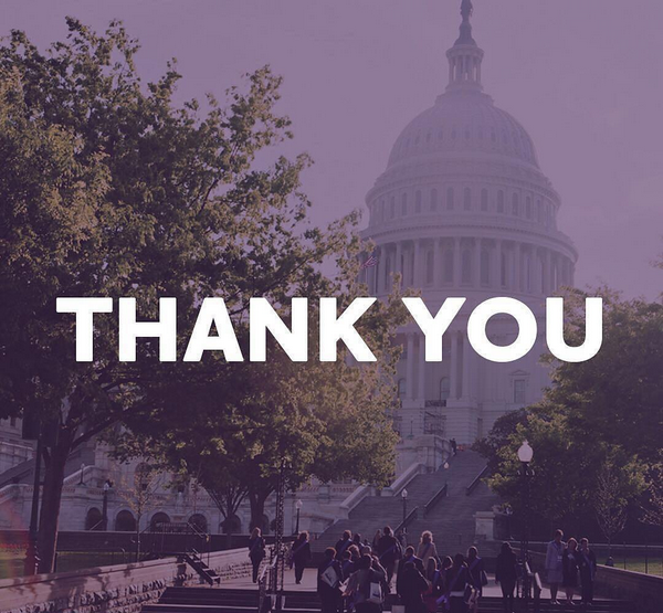Thank You - Capitol Building