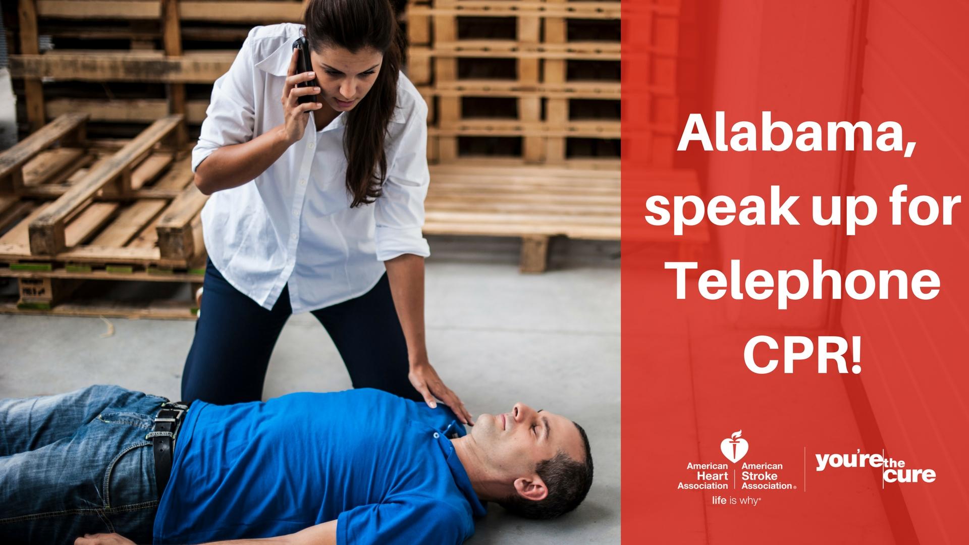 Alabama, speak up for Telephone CPR.